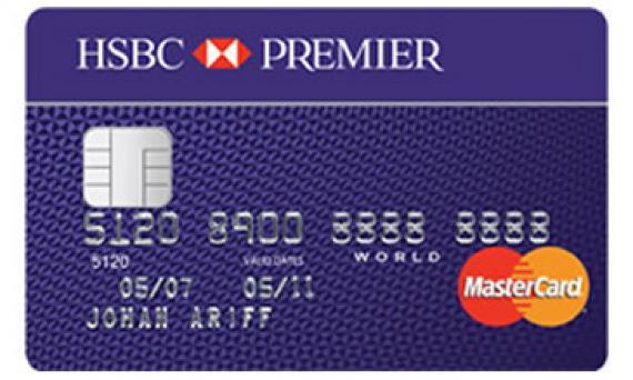 Hong kongs 10 most expensive credit cards hongkong business hsbc premier card reheart Images