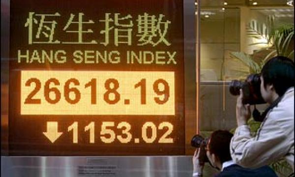 hang seng index today