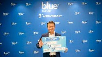 Blue Insurance Hong Kong bags the Fintech - Life Insurance Award at HKB Technology Excellence Awards 2021
