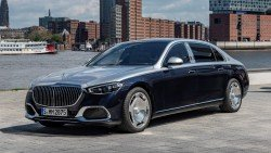 The new Mercedes-Maybach S-Class impresses with numbers
